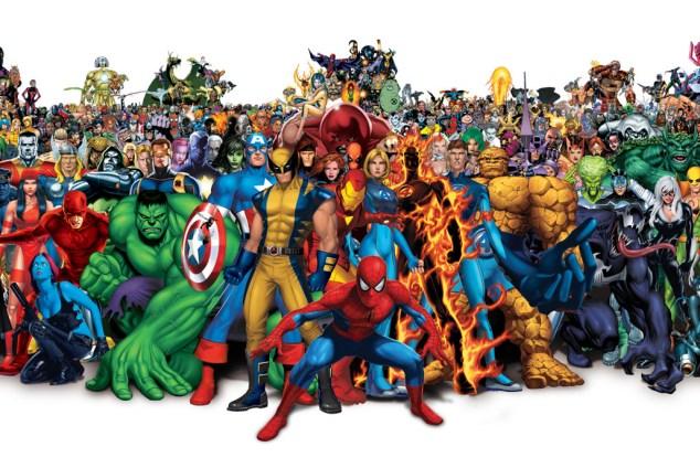 comics DE SUPERHEROES
